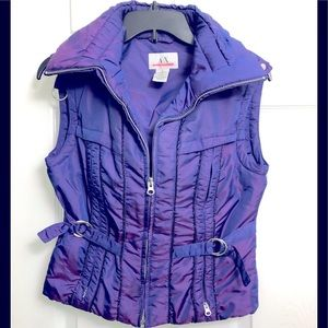 Armani Exchange fitted puffer vest